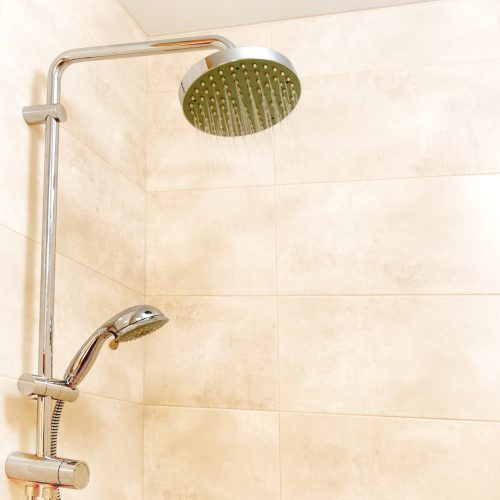 High-Pressure Shower Head with hose
